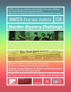 Mystery Challenge