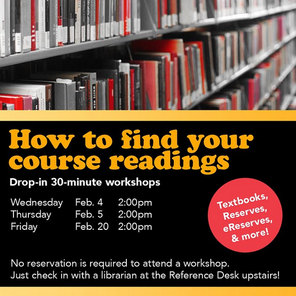 Lloyd Sealy Library workshop