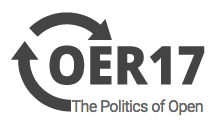 OER17 the politics of open