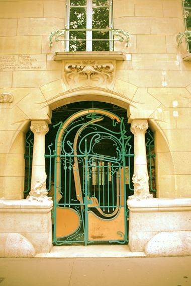 Art Nouveau Tour Of Paris Hector Guimard Robin Camille