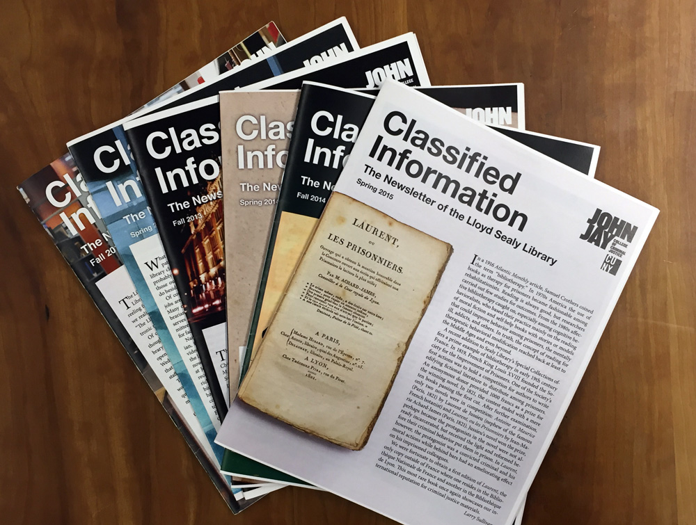 Several issues of the newsletter