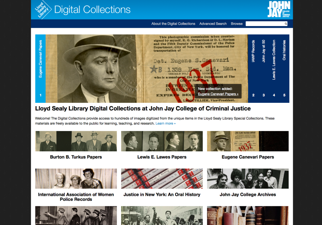 John Jay College of Criminal Justice Digital Collections