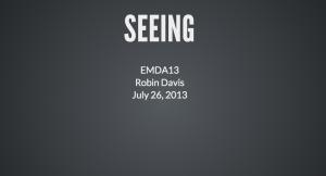 EMDA presentation