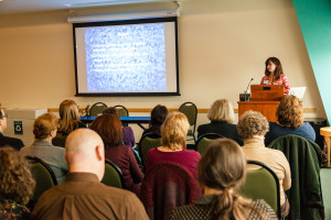 Presenting the Digital Collections at the METRO 2014 Annual Conference (photo by METRO)