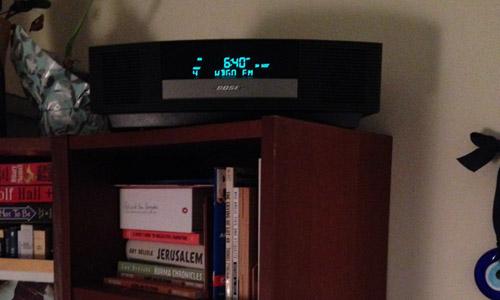 bose radio alarm clock