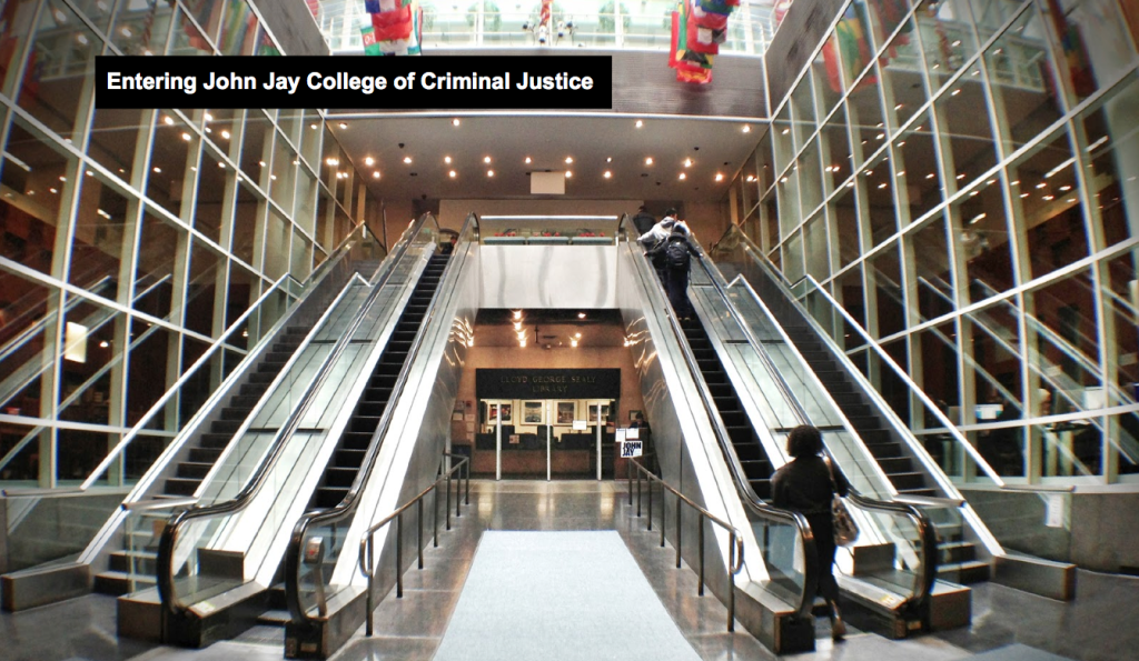 Entrance of John Jay College of Criminal Justice